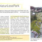 Erster NaturLesePark Neumarkt