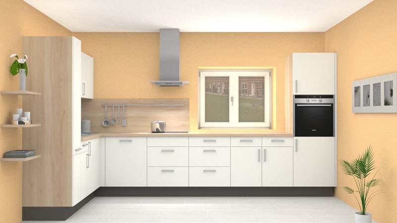 der weg zur traumk che per lfm 777 inkl ger te griessner tischlerei. Black Bedroom Furniture Sets. Home Design Ideas