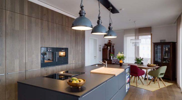 Exclusive Küche In Einer Neubauwohnung In Graz