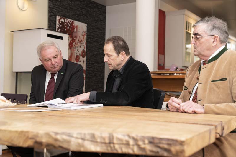 Silverius Griessner im Gespräch mit LH Schützenhöfer