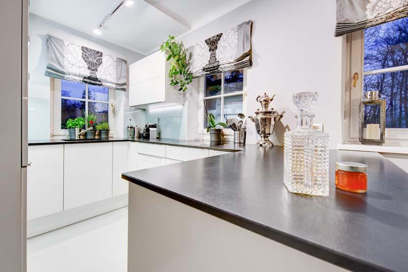 Lack-Küche für einen Kunden aus Graz