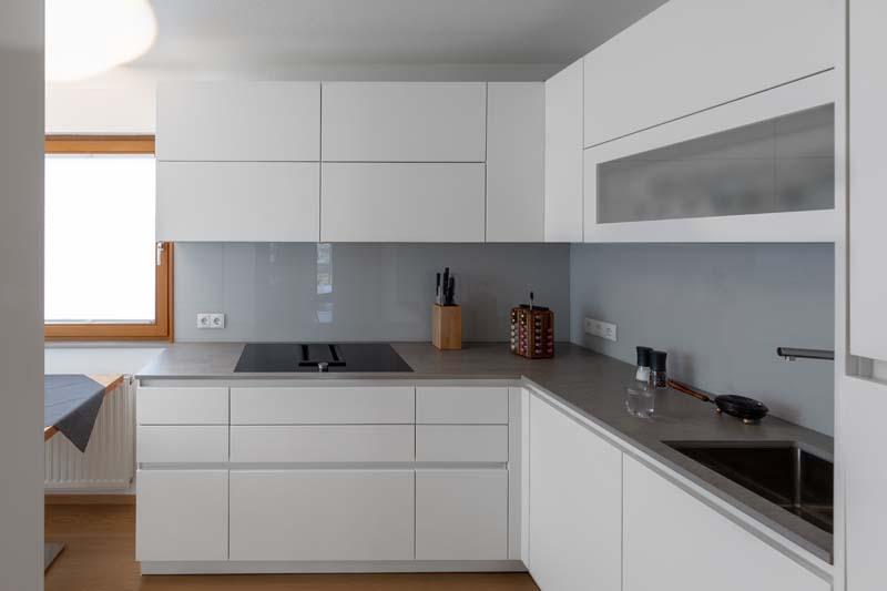 Küche mit Dekton Arbeitsplatte