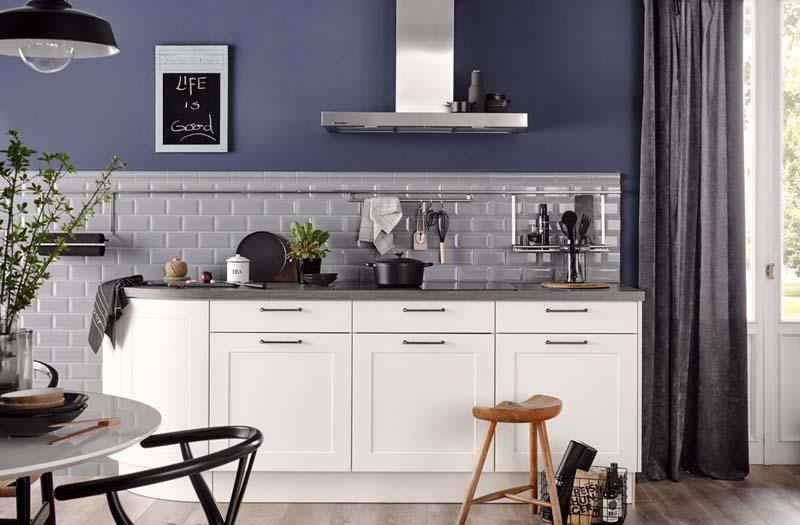 Weiße Küchen bei Griessner