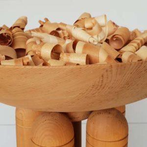 Duftsäule aus Zirbenholz