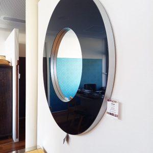 RONDO BLACK - runder Spiegel by Deknudt